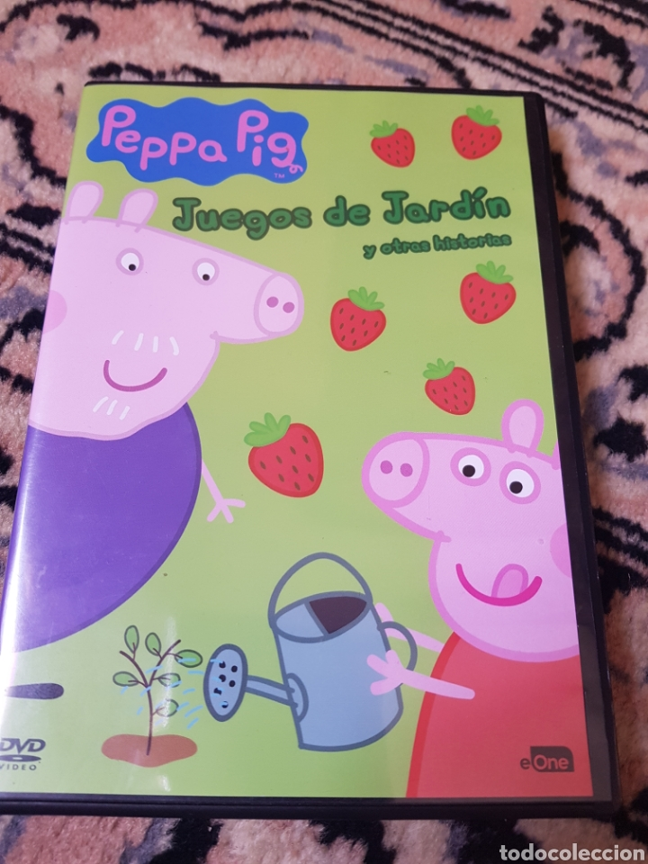 DVD PEPPA PIG. JUEGOS DE JARDÍN Y OTRAS HISTORIAS (Segunda Mano - Artículos de electrónica)