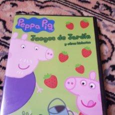 Segunda Mano: DVD PEPPA PIG. JUEGOS DE JARDÍN Y OTRAS HISTORIAS. Lote 215795517