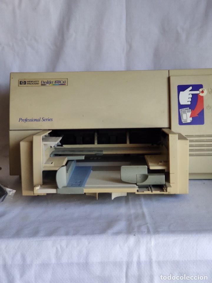 IMPRESORA SERIE PROFESIONAL HP. DESKJET 870 CXI (Segunda Mano - Artículos de electrónica)