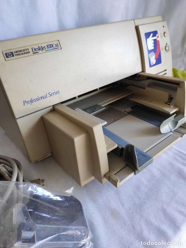 Segunda Mano: Impresora serie profesional HP. Deskjet 870 Cxi - Foto 2 - 216358648