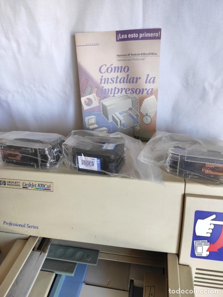 Segunda Mano: Impresora serie profesional HP. Deskjet 870 Cxi - Foto 3 - 216358648