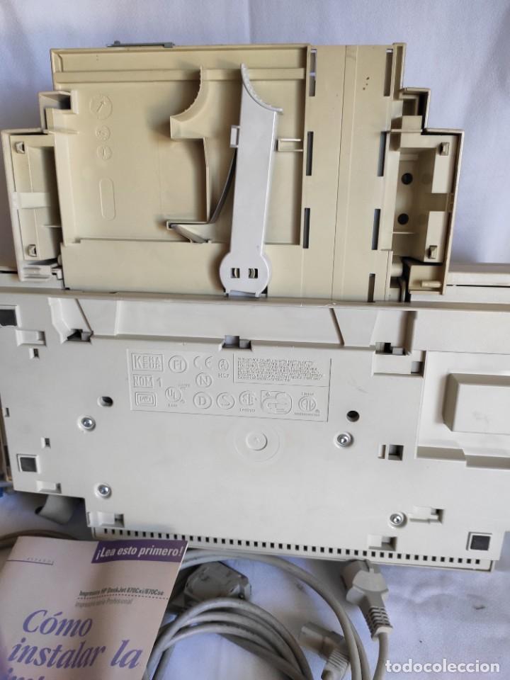 Segunda Mano: Impresora serie profesional HP. Deskjet 870 Cxi - Foto 14 - 216358648