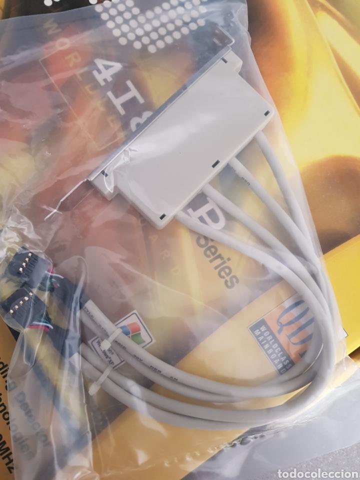 Segunda Mano: Placa base de PC con 4 puertos externos USB - Foto 2 - 216794392