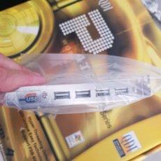 Segunda Mano: PLACA BASE DE PC CON 4 PUERTOS EXTERNOS USB. Lote 216794392