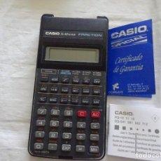 Segunda Mano: CASIO FX 82SUPER FRACTION. Lote 216804825