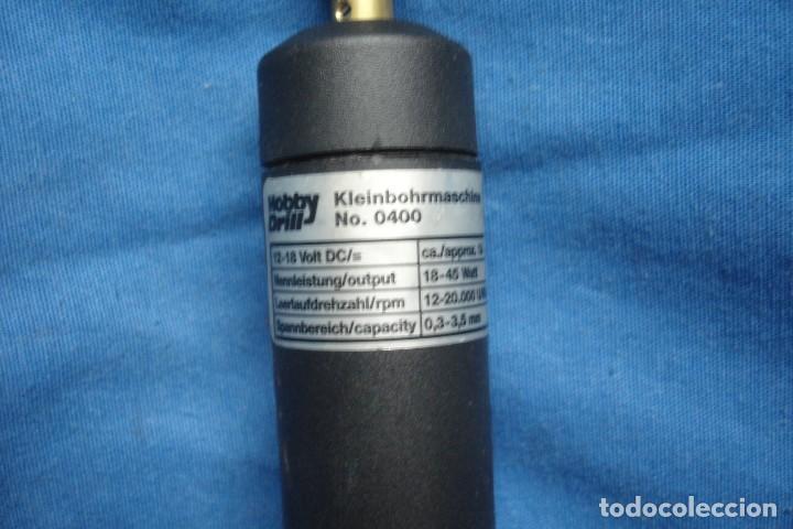 Segunda Mano: MINI TALADRO MARCA HOBBY DRILL - KLEINBOHRMASCHINE Nº 0400 - MADE IN GERMANY - Foto 2 - 217747873
