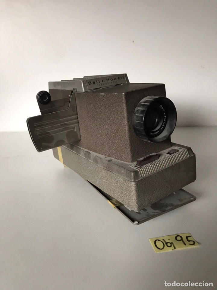Segunda Mano: Vintage Bell & Howell Model 707 Headliner Manual 35mm Slide Projector - Foto 2 - 218148148