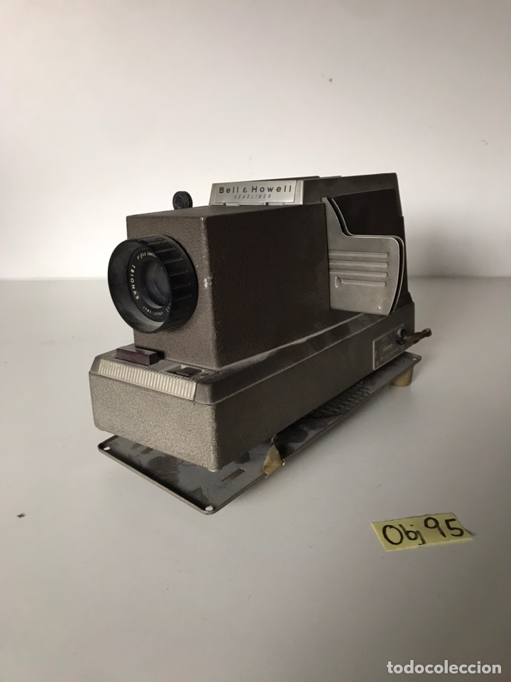 VINTAGE BELL & HOWELL MODEL 707 HEADLINER MANUAL 35MM SLIDE PROJECTOR (Segunda Mano - Artículos de electrónica)