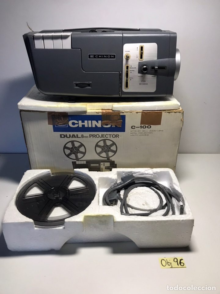 PROYECTOR CHINON C-100 8MM (Segunda Mano - Artículos de electrónica)