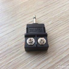 Seconda Mano: CLAVIJA CONECTOR JACK 3.5MM A SALIDA CABLE POR TORNILLO SONIDO. Lote 218334985