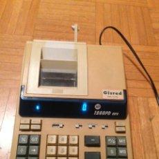 Segunda Mano: CALCULADORA PROFASIONAL ELECTRONICA GISRED JET 1280PD EURO.. Lote 218748746