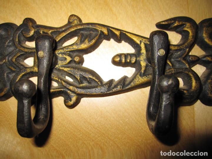 Segunda Mano: Percha pared hierro efecto envejecido - Foto 5 - 218782750