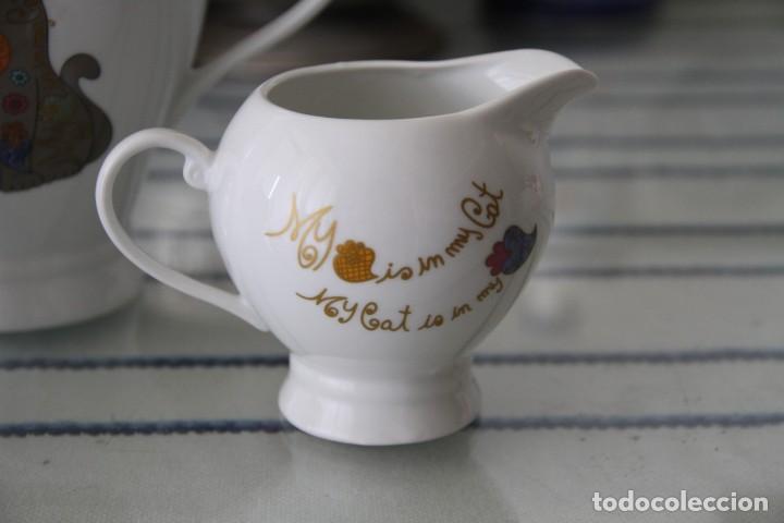 Segunda Mano: Juego tres piezas vajilla juego de té, tetera lechera y azucarero A Loja do Gato Preto - Foto 2 - 218786433