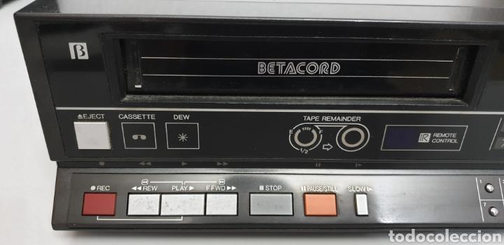 Segunda Mano: SANYO BETACORD VIDEO CASSETTE RECORDER VTC-NX30 - Foto 2 - 219023516