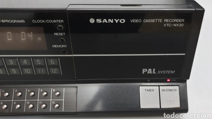 Segunda Mano: SANYO BETACORD VIDEO CASSETTE RECORDER VTC-NX30 - Foto 4 - 219023516