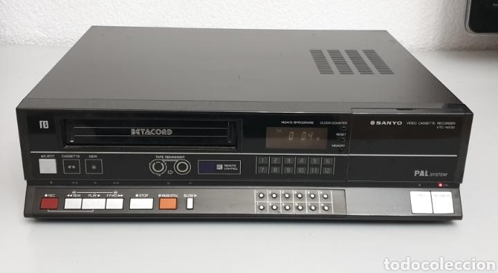 SANYO BETACORD VIDEO CASSETTE RECORDER VTC-NX30 (Segunda Mano - Artículos de electrónica)
