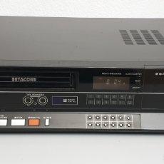 Segunda Mano: SANYO BETACORD VIDEO CASSETTE RECORDER VTC-NX30. Lote 219023516
