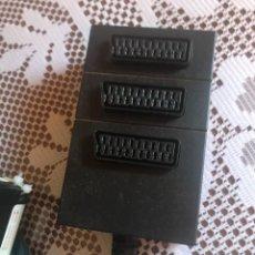 Segunda Mano: REGLETA MÚLTIPLE EUROCONECTOR 3 TOMAS. Lote 219026528