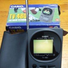 Segunda Mano: TELEVISIÓN PORTÁTIL CASIO TV- 480. Lote 219327352