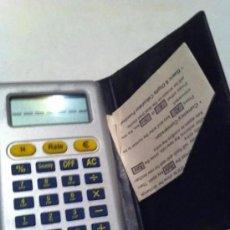 Segunda Mano: CALCULADORA Y CONVERSOR PESETAS A EUROS. Lote 219454578
