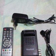 Segunda Mano: KOOLTEK TDT EUROCONECTOR GRABADOR USB. Lote 220672713