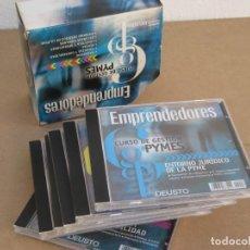 Segunda Mano: CURSO DE GESTION. PYMES. EMPRENDEDORES. 6 CDS.. Lote 220724110