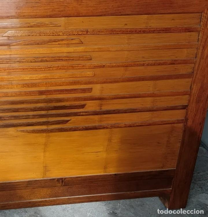 Segunda Mano: CABECERO O CABEZAL DE MADERA MACIZA - Foto 4 - 221159815