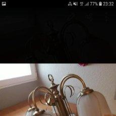 Segunda Mano: LAMPARA 3 TULIPAS. Lote 221574158