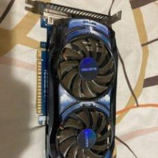Segunda Mano: TARJETA GRÁFICA PCI-EXPRESS 1GB NVIDIA GTS 450 GIGABYTE GDDR5. Lote 221924260