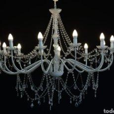 Segunda Mano: LAMPARA CRISTAL. Lote 221938598