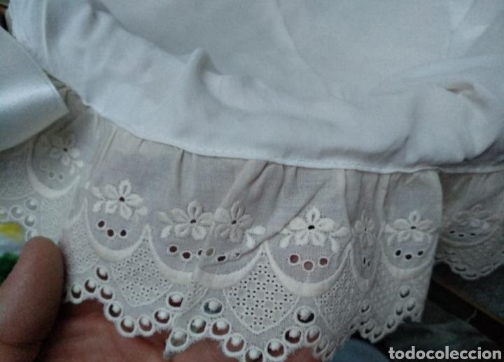 Segunda Mano: cestos de mimbre para madrina, vestidos de algodón artesano. Boda, bautizo, etc - Foto 3 - 222081222