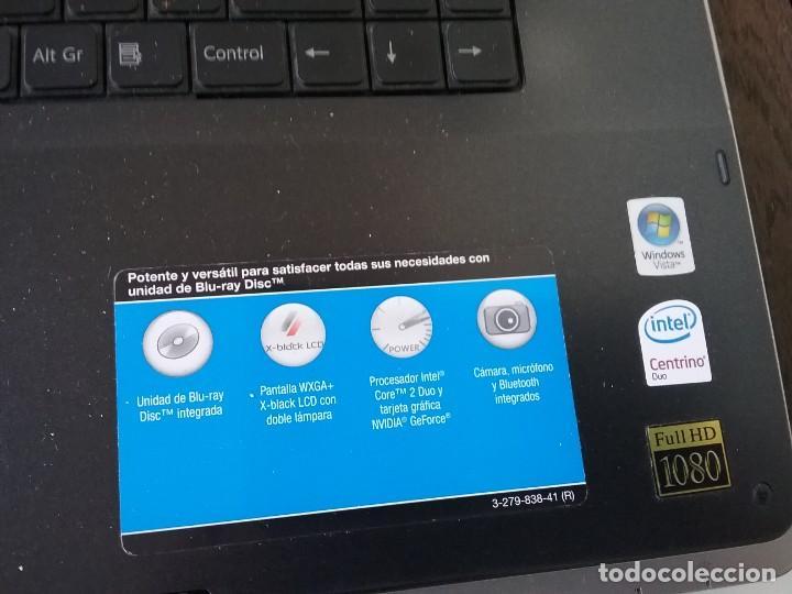 Segunda Mano: Ordenador portatil SONY VAIO - Foto 6 - 222162561