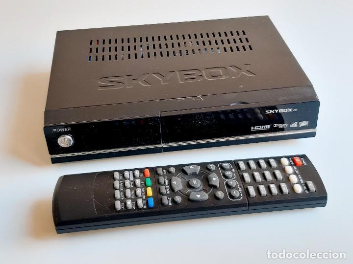 SKYBOX SINTONIZADOR DE TV SATELITAL DIGITAL + MANDO (Segunda Mano - Artículos de electrónica)