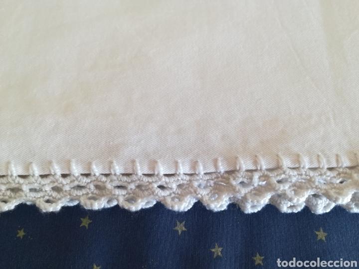 Segunda Mano: Antiguo mantel algodón. - Foto 4 - 222352547