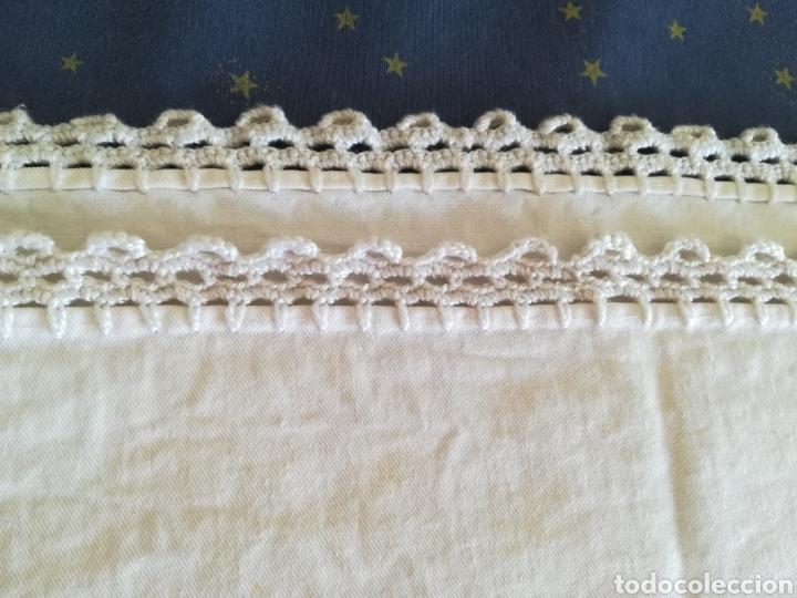 Segunda Mano: Antiguo mantel algodón. - Foto 5 - 222352547