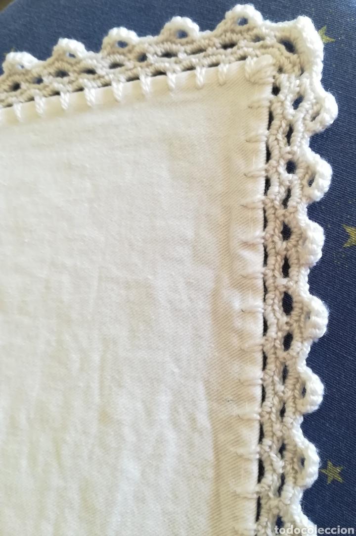 Segunda Mano: Antiguo mantel algodón. - Foto 6 - 222352547