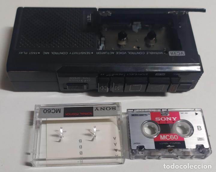 GRABADOR REPRODUCTOR OLYMPUS PEARLCORDER S911 (MICROCASSETTE RECORDER) (Segunda Mano - Artículos de electrónica)