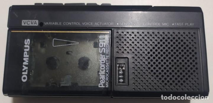 Segunda Mano: Grabador reproductor Olympus Pearlcorder S911 (microcassette recorder) - Foto 3 - 222390172