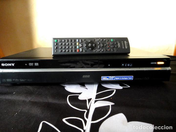 SONY RDR HXD990 VIDEO GRABADOR DVD HDD 250GB COMBO TDT HDMI (Segunda Mano - Artículos de electrónica)