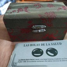 Segunda Mano: BOLAS DE LA SALUD. Lote 222795857