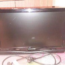 Segunda Mano: TELEVISION SAMSUNG LED 19 PULGADAS - COLOR NEGRO - IDEAL PARA COLGAR EN PARED. Lote 222818988