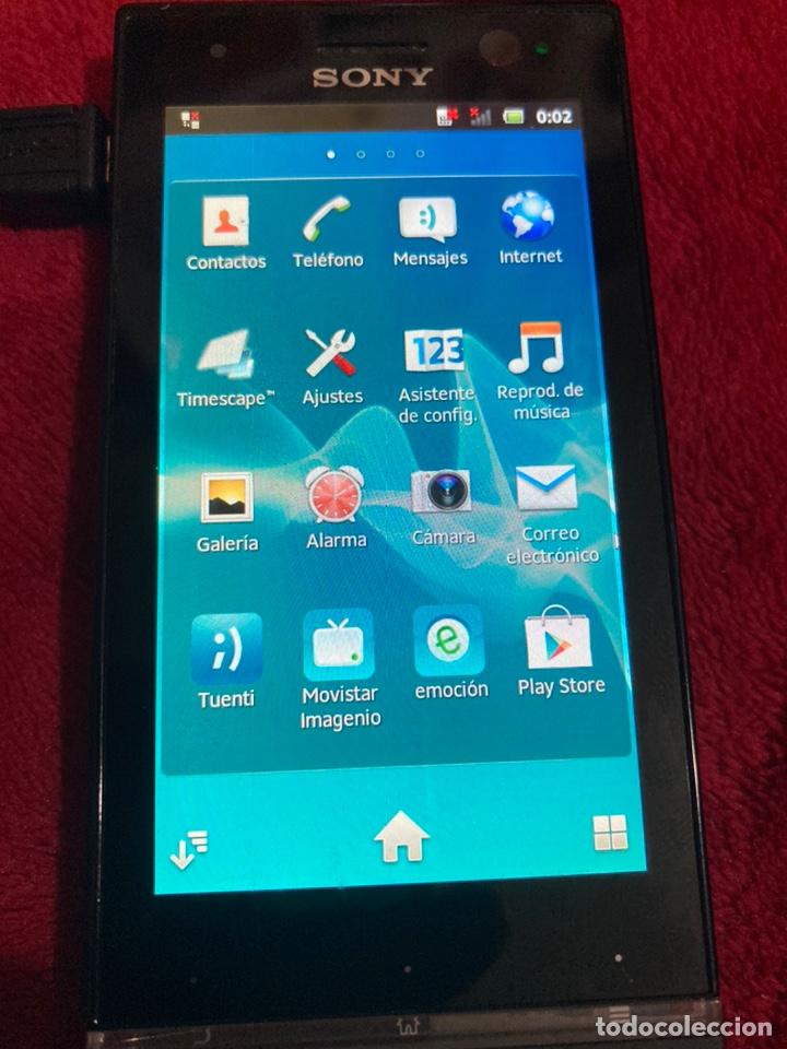 Segunda Mano: Móvil Sony Xperia U St25i operador Movistar. NO FUNCIONA EL TÁCTIL. - Foto 3 - 189197166