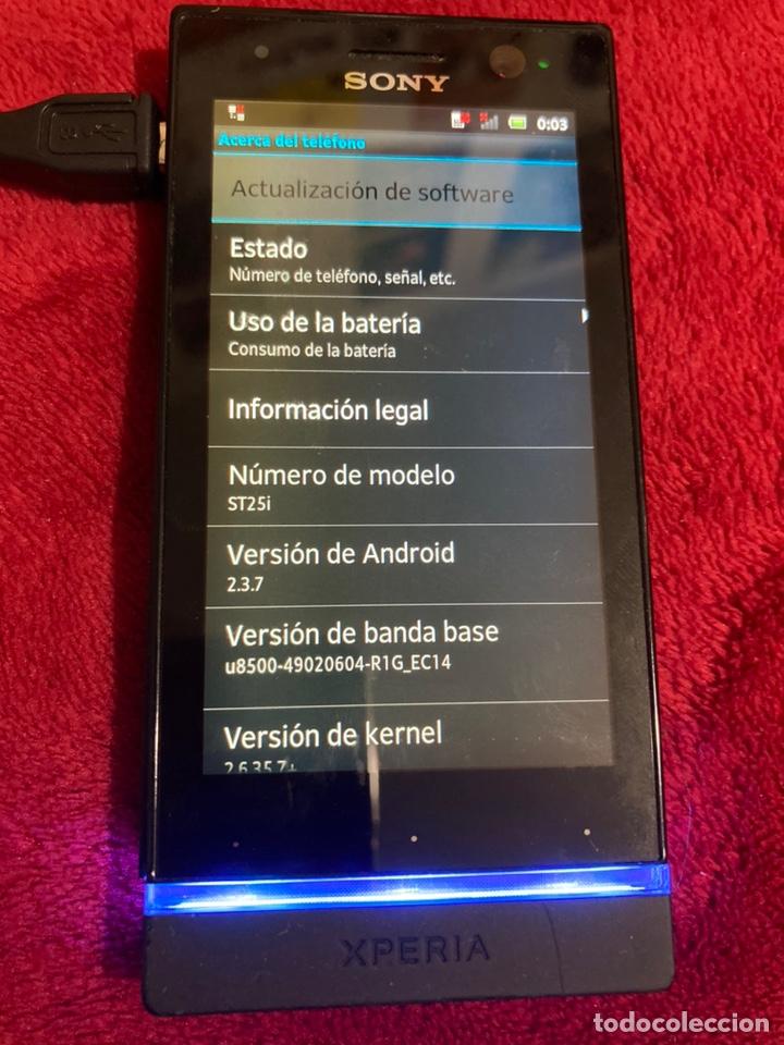 Segunda Mano: Móvil Sony Xperia U St25i operador Movistar. NO FUNCIONA EL TÁCTIL. - Foto 4 - 189197166
