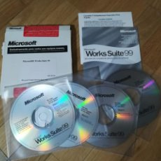 D'Occasion: MICROSOFT WORKS SUITE 99 - 4CD-ROM. Lote 224056652