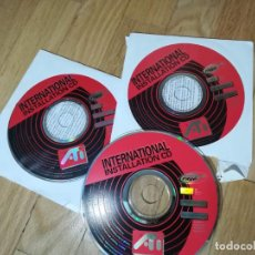 D'Occasion: INTERNATIONAL INSTALLATION CD GRAPHIC ATI - 3CDS. Lote 224066938