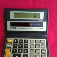 Segunda Mano: CALCULADORA CASIO ELECTRONIC SL-100 A. Lote 224521926