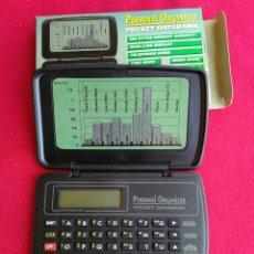 Segunda Mano: ORGANIZADOR ELECTRÓNICO POCKET DATABANK. Lote 224522568