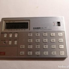 D'Occasion: CALCULADORA MUSICAL CASIO ML-71 MADE IN JAPAN. Lote 225916365