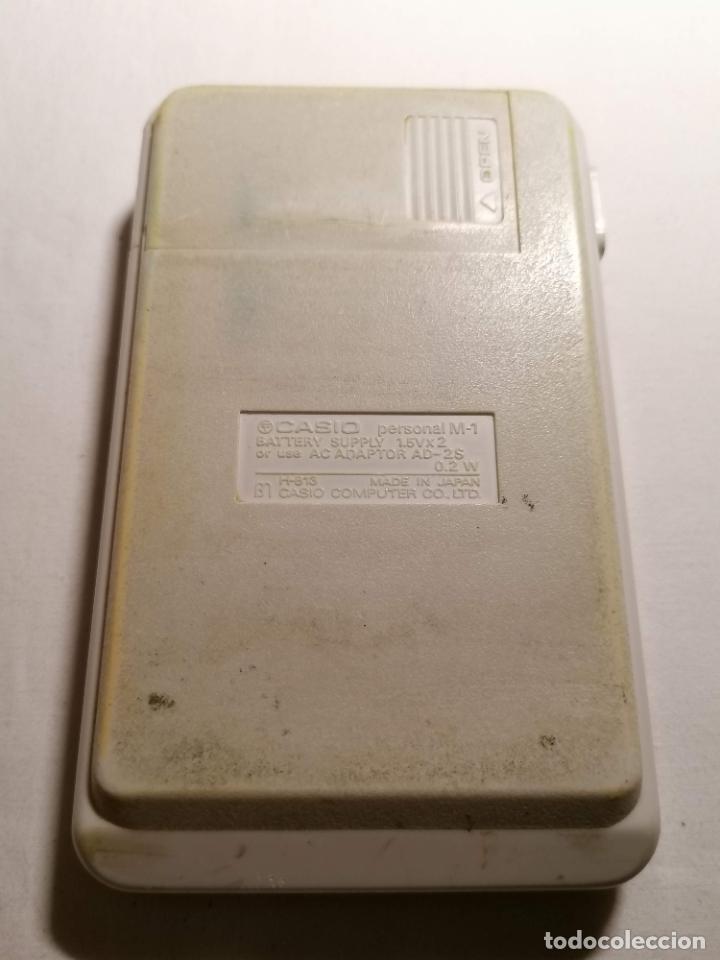 Segunda Mano: Calculadora Casio Personal M1 MADE IN JAPAN - Foto 3 - 225919281