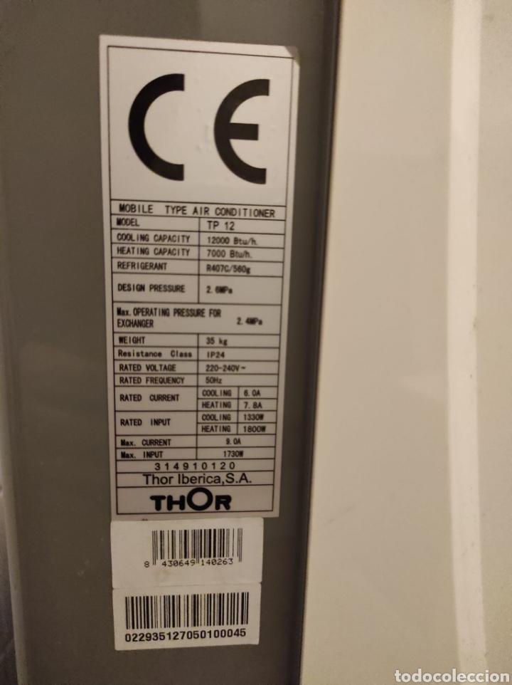Segunda Mano: Calefactor, aire acondicionado Thor. Portátil - Foto 4 - 228072265